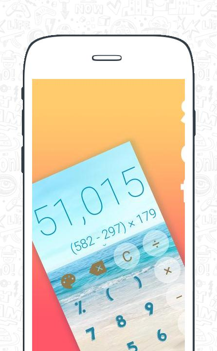 Stylish Calculator Free - CALCU™ screenshot 2