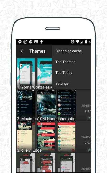 Themes for Plus Messenger screenshot 8