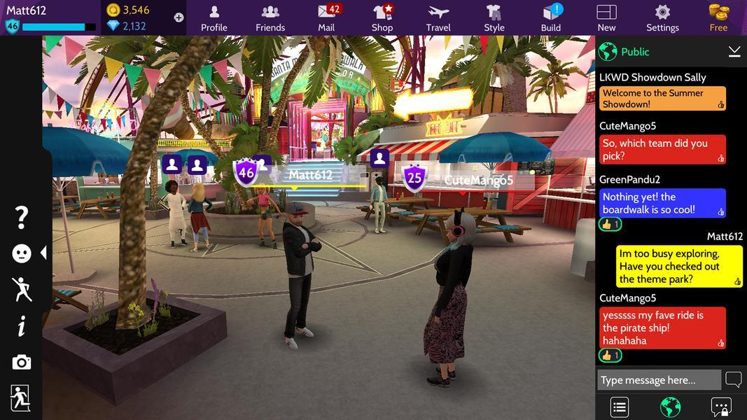 Avakin Life screenshot 6