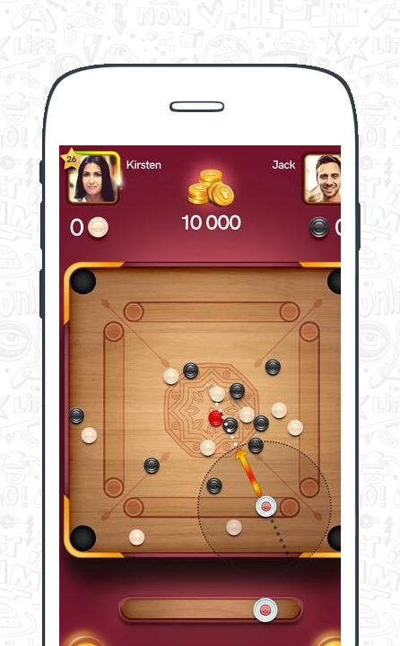 Carrom Pool: Disc Game screenshot 4