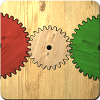 Gears logic puzzles app